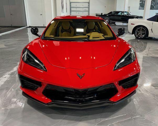 2021 Red Chevrolet Corvette  3LT | C7 Corvette Photo 8