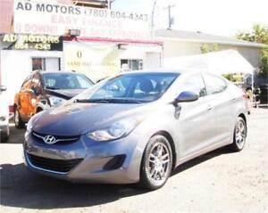 2013 Hyundai Elantra GLS AUTO LOADED BT HEATED SEAT 95K 100% FIN