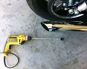Modification d exaust baffel muffler d'origine Harley Davidson