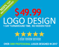 $49.99 Logo Design (24h Turn Around Time!)