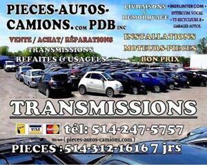 Transmission Mazda 2 2011 vit AT TOP COND 514-247-5757