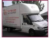 Man with a Luton van