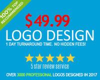 $49.99 Logo Design (24h Turn Around Time!)