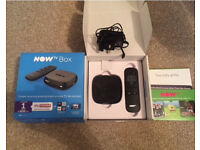 Now TV box brand new never been used free sky 1 month sky cinema pass