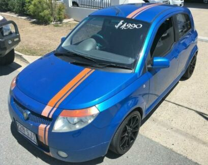2006 Proton Savvy BT Blue 5 Speed Manual Hatchback