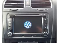 Volkswagen DVD Player with SAT NAV iPod USB MP3 Fits Golf MK5 Mk6 Polo Passat Transporter T5