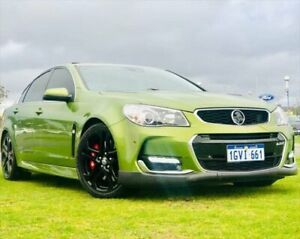 2015 Holden Commodore VF MY15 SS V Redline Green 6 Speed Manual Sedan Kenwick Gosnells Area Preview