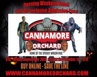 Opening Weekend Special $10 admission only!