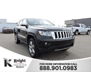2011 Jeep Grand Cherokee Overland Heated/Cooled Leather Back-Up