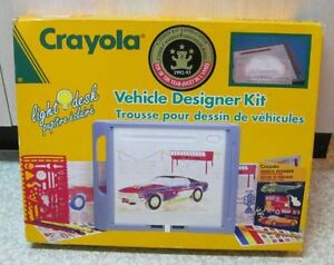 Crayola Vehicle Designer Kit!
