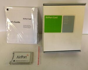 APPLE AIRPORT CARD MODEL M7600LL-E iBOOK iMAC eMAC+ POWERBOOK NEW NIB G3 G4