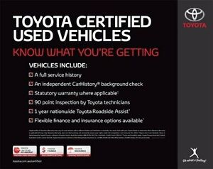 2015 Toyota Aurion Grey Sports Automatic Sedan Blackburn Whitehorse Area Preview