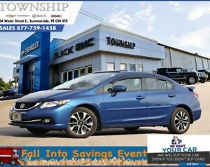 2015 Honda Civic Sedan LX - Automatic - Factory Warranty!