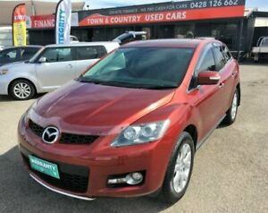 2008 Mazda CX-7 ER1031 MY07 Luxury Red Semi Auto Wagon Garbutt Townsville City Preview