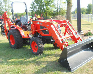 NEW- Kioti CK4010 Compact Tractor, Loader, Backhoe