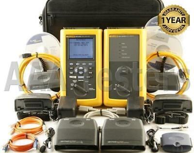 Fluke Dsp-4000 Cat6 Mm Fiber Cable Tester Fta420 Dsp-fta420 Dsp4000 Dsp 4000 Fta