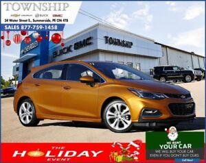 2017 Chevrolet Cruze Premier - Hatchback - 0% Financing!
