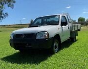 2010 Nissan Navara D22 MY08 DX (4x2) White 5 Speed Manual Cab Chassis Oakey Toowoomba Surrounds Preview