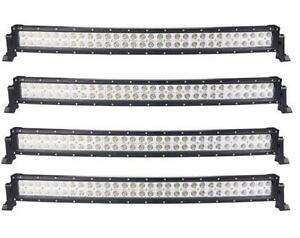 CASE LOT SALE! NEW LED CURVED BARS DUAL ROWS 300W 240W 120W 48W