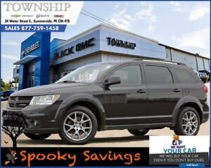 2013 Dodge Journey R/T - All Wheel Drive - Leather - Loaded!