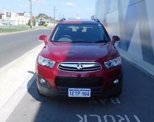 2015 Holden Captiva CG MY15 7 Active Red 6 Speed Sports Automatic Wagon Bunbury Bunbury Area Preview