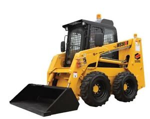 SKID STEERS FOR RENT OR PURCHASE