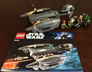 Lego Star Wars General Grievous' Starfighter (8095) - Complete