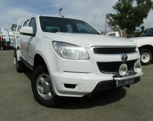 2016 Holden Colorado RG MY16 LS Crew Cab White 6 Speed Sports Automatic Cab Chassis Bellevue Swan Area Preview