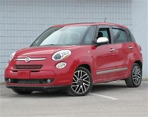 2014 Fiat 500L Lounge Sunroof|Navigation|Leather|Heated Seats