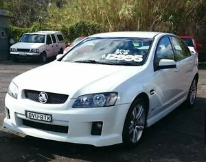 2009 Holden Commodore VE MY10 SV6 White 5 Speed Automatic Sedan Camden Camden Area Preview