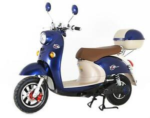 SALE! $200 Off! T4B Retro 500W+ Electric Scooter 60V20AH Battery