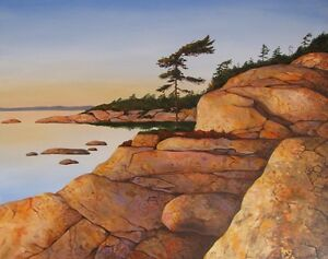 Original acrylic painting by Diane Soward Canadian Art London Ontario image 2