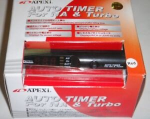 APEXi Turbo Timer Auto Timer Black with Blue LED (brand new)