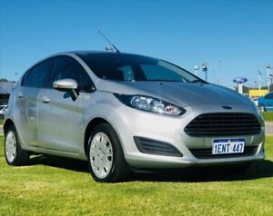 2014 Ford Fiesta WZ MY15 Ambiente Silver 5 Speed Manual Hatchback Kenwick Gosnells Area Preview