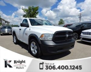 2013 Ram 1500 ST Tow Package Tonneau Cover Accident-Free Low Kms