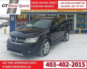 2012 Dodge Journey R/T | DVD| $0 DOWN - EVERYONE APPROVED!