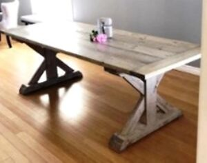 Locally Hand Made Harvest & Dining Tables