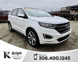 2015 Ford Edge Sport Heated/Cooled Leather Remote Start Back-Up