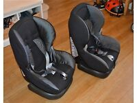 Maxi Cosi Priori - black car seats (2) - for 9 months to 4 year old children