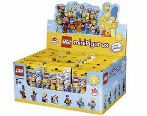 LEGO Minifigures - The Simpsons™ Series 2 - NEW & SEALED CASE