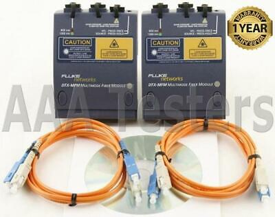 Fluke Dtx-mfm Mm Fiber Modules 4 Dtx-1200 Dtx-1800 Dtx