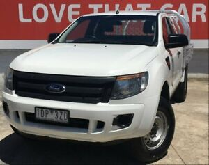 2014 Ford Ranger White Manual Cab Chassis Heidelberg Heights Banyule Area Preview