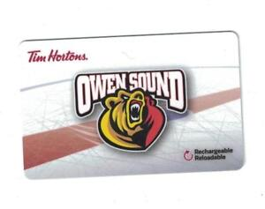 Looking for Owen Sound Attack 2017 OHL Tim Hortons Gift Cards