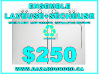 Laveuse a partir de $175.00/ Washer starting at $175.00
