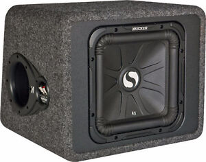 KICKER L3 SUBWOOFER WITH AMP COMBO - FREE WIRING KIT - BRAND NEW