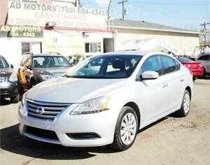 """SALE THIS WEEK"" 2013 NISSAN SENTRA AUTO LOAD 57K 100% FINANCING"