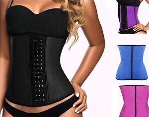 New latex waist trainers and under bust corsets
