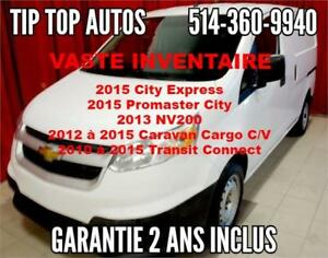 2015 CITI EXPRESS (NV200) GARANTIE, BLUETOOTH, CRUISE, ETC