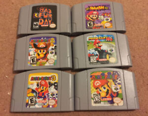 Nintendo 64 N64 Games collection for sale
