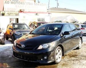 2011 TOYOTA COROLLA S AUTO LOADED SHARP LOOK 100% FINANCING